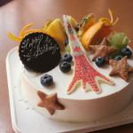 東京タワーなケーキ