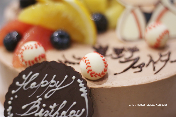 チョコレート 野球ボール