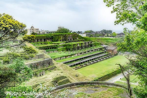 佐渡の北沢浮遊選鉱場跡