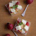 佐渡産プラム&もちもち豆乳