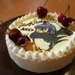 キャラデコなケーキ