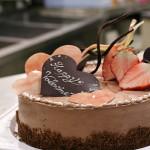 バレンタインなケーキ