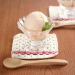 白桃みるくソルベ