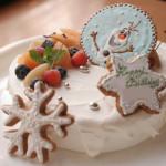 アナ雪なケーキ♪