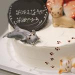 にゃんこなケーキ