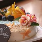常夏なケーキ?