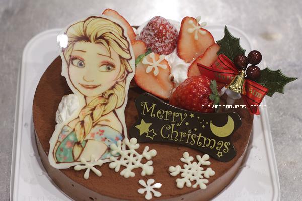 アナ雪 エルサのクリスマスデコ