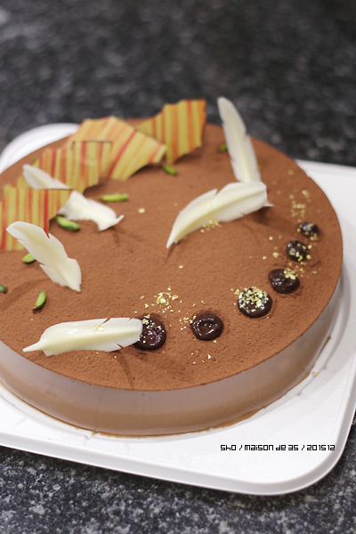 シンプルチョコケーキ