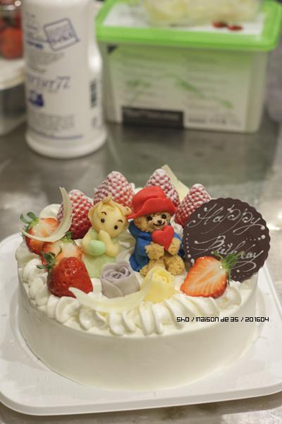 プラチョコ 人形 パディントン 赤ちゃん バースデー デコレーション 羽根チョコ 佐渡 オーダーメイドケーキ