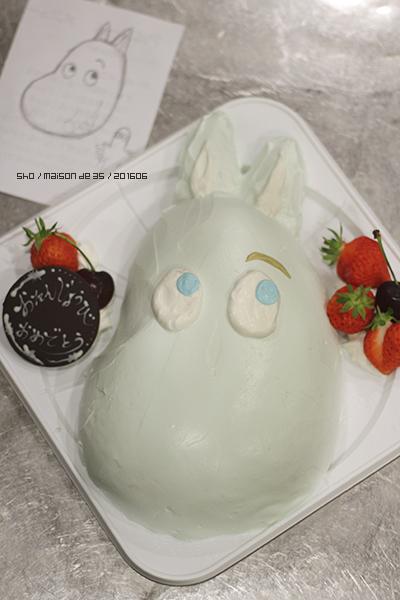 立体ケーキ ムーミン