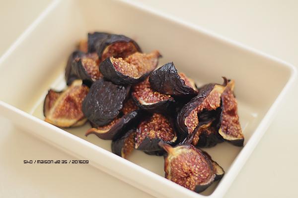 佐渡産黒いちじくのおぎビオレーで作るセミドライ