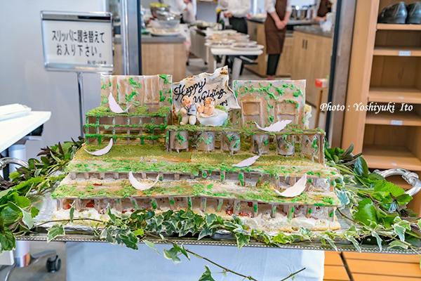 北沢浮遊選鉱場のケーキ